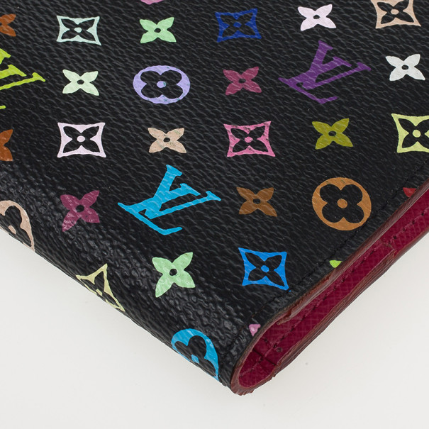 Louis Vuitton Insolite Multicolor Monogram Wallet