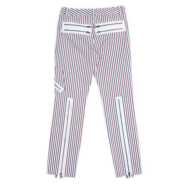 Chloe Striped Zipper Pants S