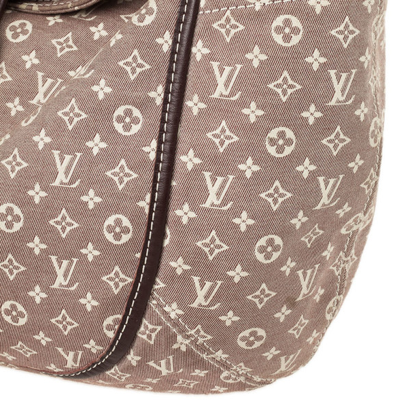 Louis Vuitton Sepia Monogram Mini Lin Idylle Romance Shoulder Bag