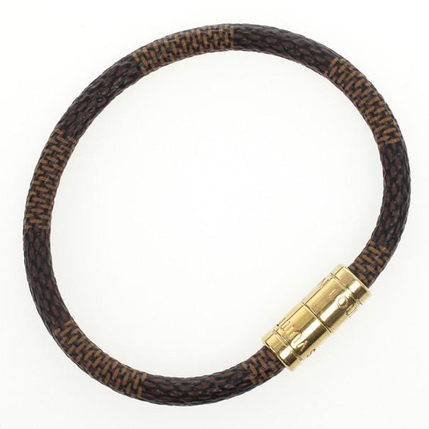 Louis Vuitton Keep It Damier Bracelet 18 CM
