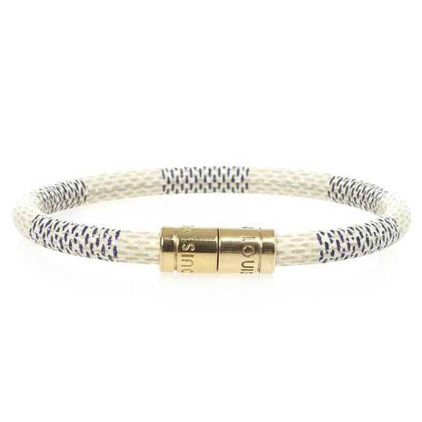 Louis Vuitton Keep It Damier Azur Bracelet 18 CM