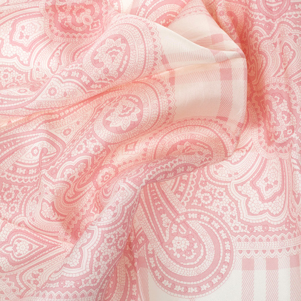 Burberry Printed Square Silk Scarf