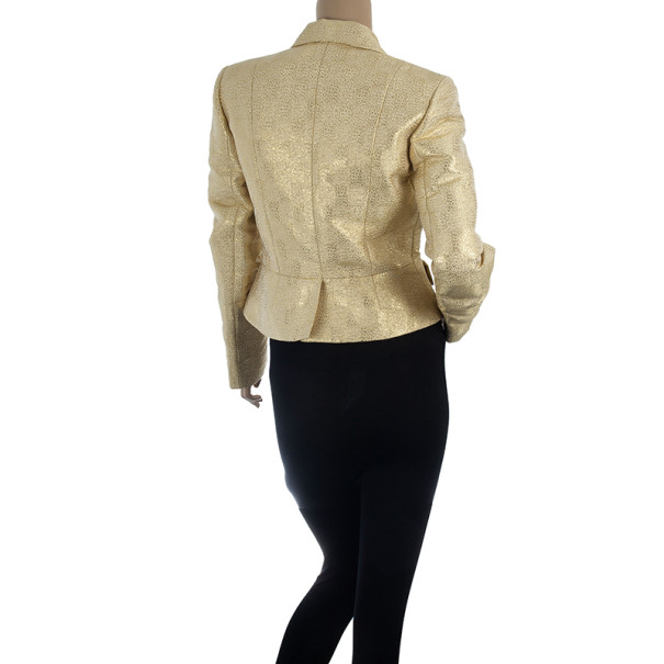 Christian Dior Gold Jacket M