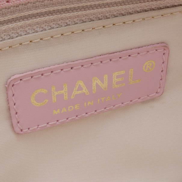 Chanel Nylon CC Logo Travel Line Tote