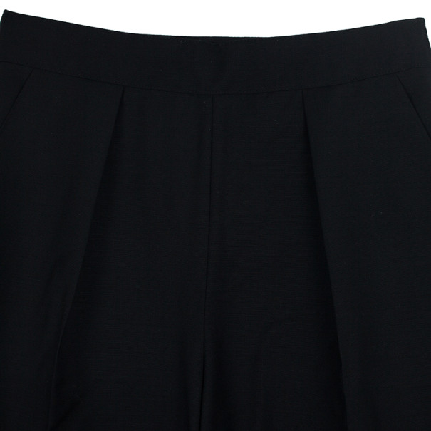 Balenciaga High Waisted Toile Trousers S