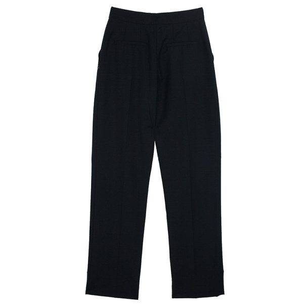 Balenciaga High Waisted Toile Trousers S