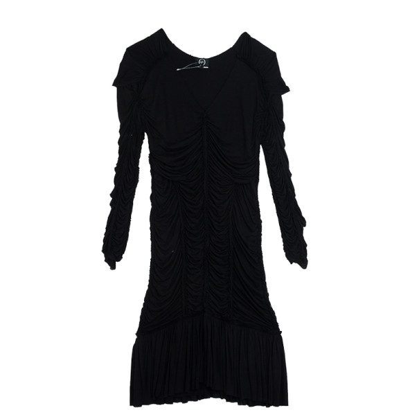 McQ by Alexander McQueen Ruched Dress M