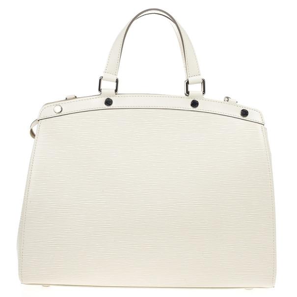 Louis Vuitton Ivory Epi Brea GM