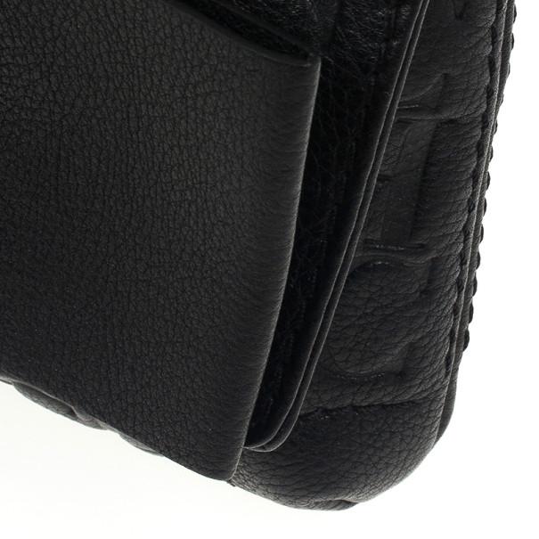 Carolina Herrera Monogram Embossed Bow Bag