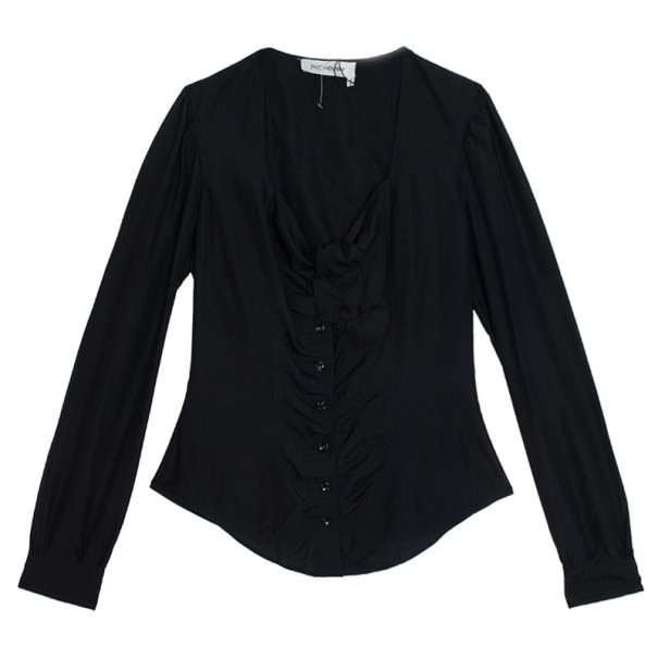 Saint Laurent Paris Silk Shirt M