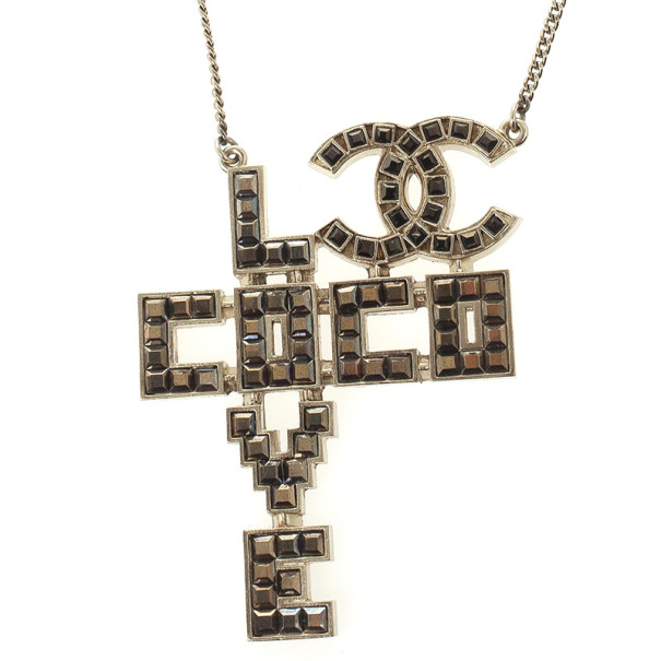 Chanel Love Coco Necklace