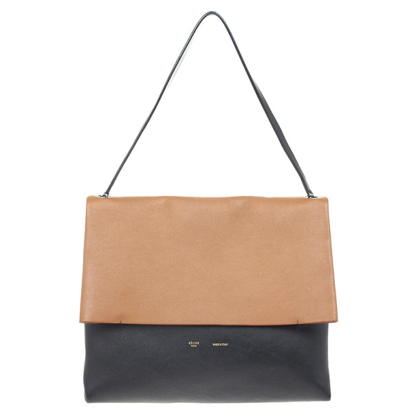 Celine All Soft Calfskin Mellow Shoulder Bag and Pouch