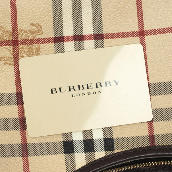 Burberry Small Haymarket Hobo