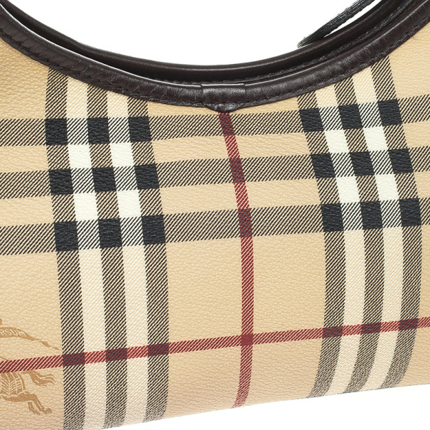 Burberry Small Haymarket Hobo