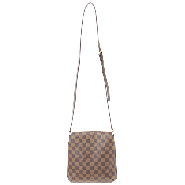 Louis Vuitton Damier Ebene Musette Salsa Long Strap Shoulder Bag