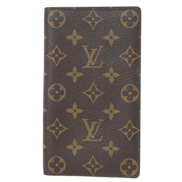 Louis Vuitton Monogram Porte Valeurs Organizer
