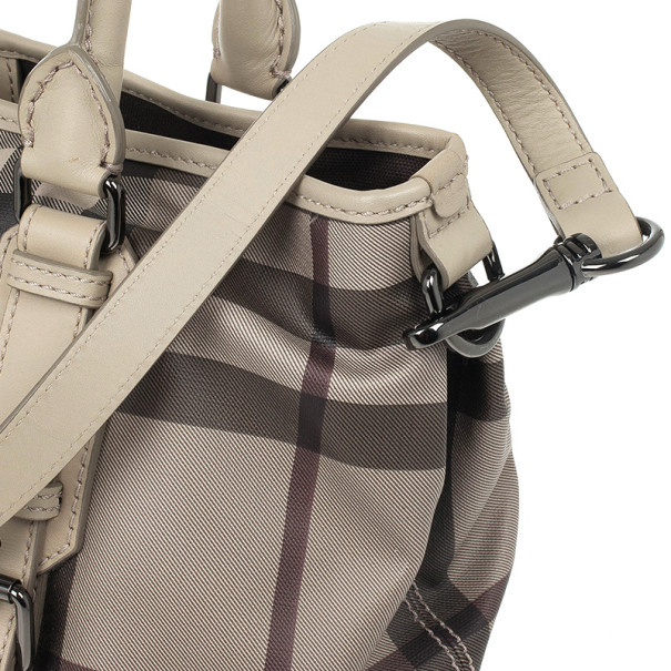Burberry New Check Lowry Tote Bag