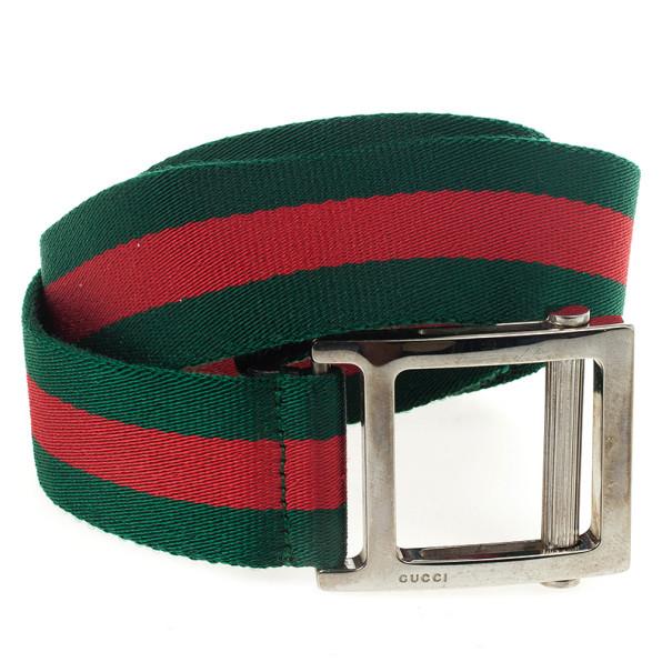 Gucci Web Detail Belt 108 CM