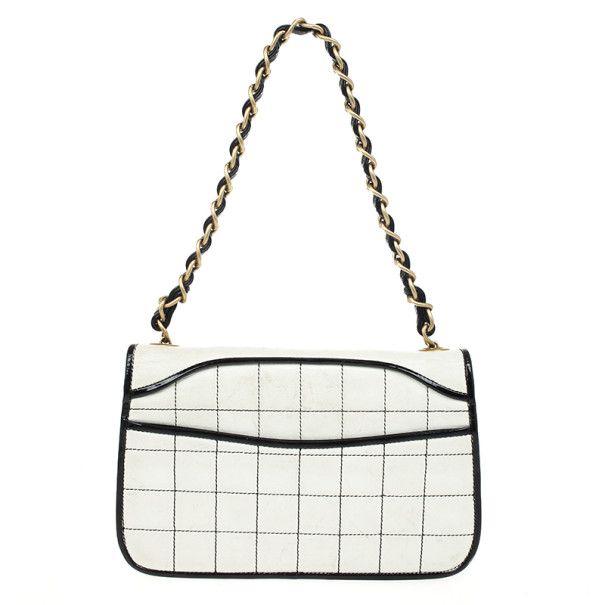 Chanel Leather Square Quilt Flap Bag