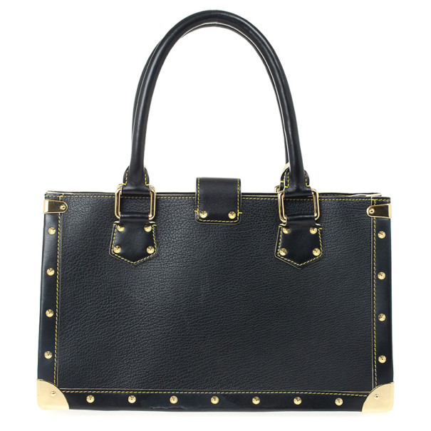 Louis Vuitton Black Suhali Leather Le Fabuleux Bag