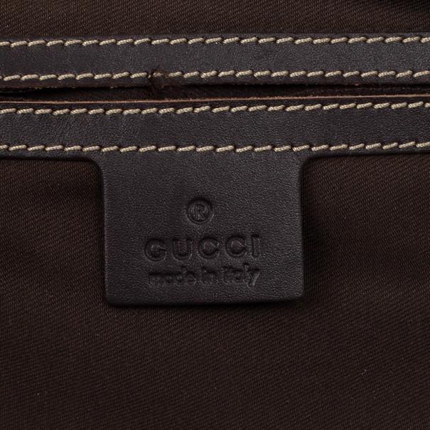 Gucci Supreme Canvas Shoulder Bag