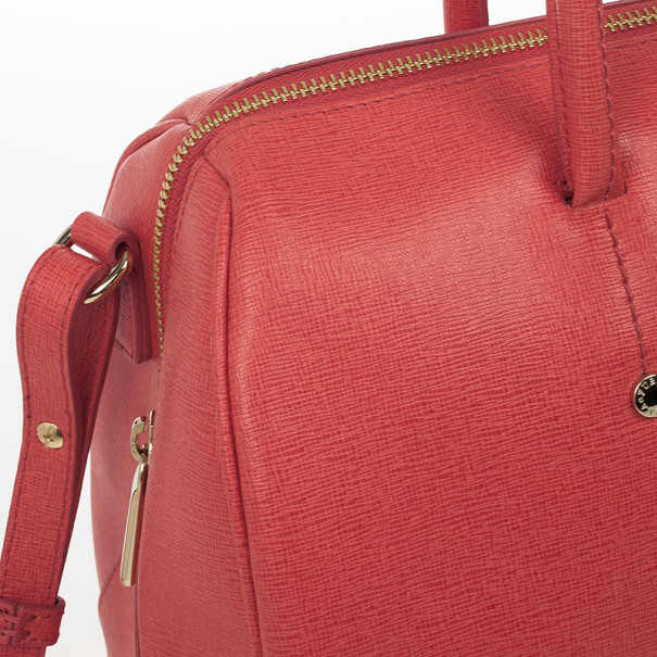 Furla Coral Leather 'Arianna' Satchel