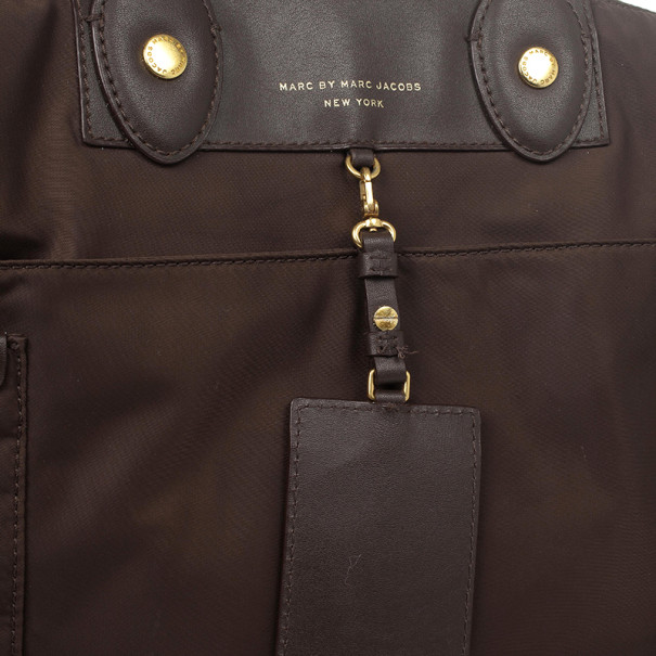 Marc by Marc Jacobs Brown Preppy Nylon Elizababy Bag