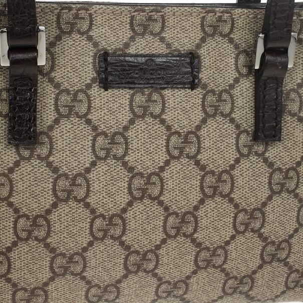 Gucci Brown Monogram Pochette
