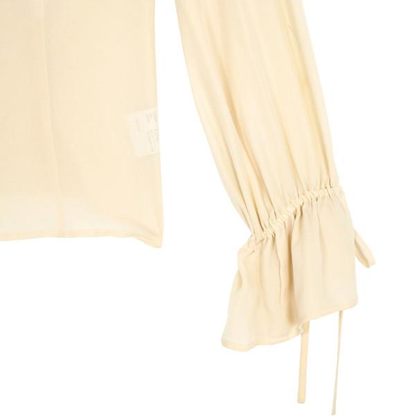 Escada Embellished Silk Top S