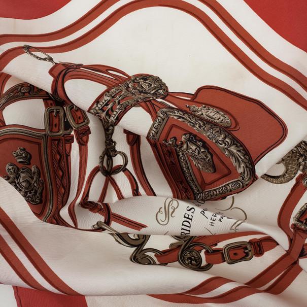 Hermes Vintage Brides de Gala Scarf