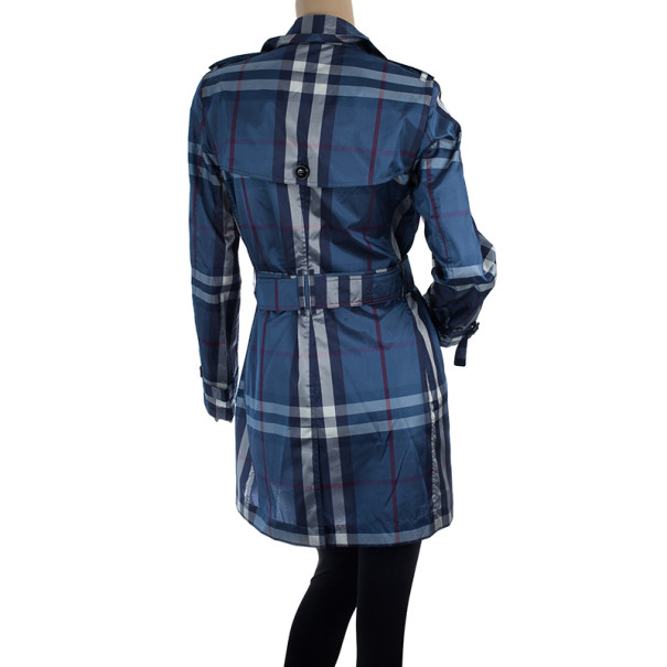Burberry Printed Trench Coat XS