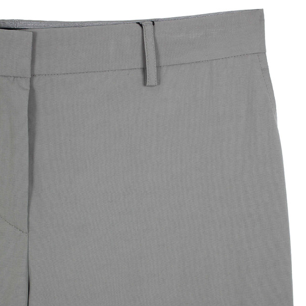 Giorgio Armani Grey Cotton Pants M