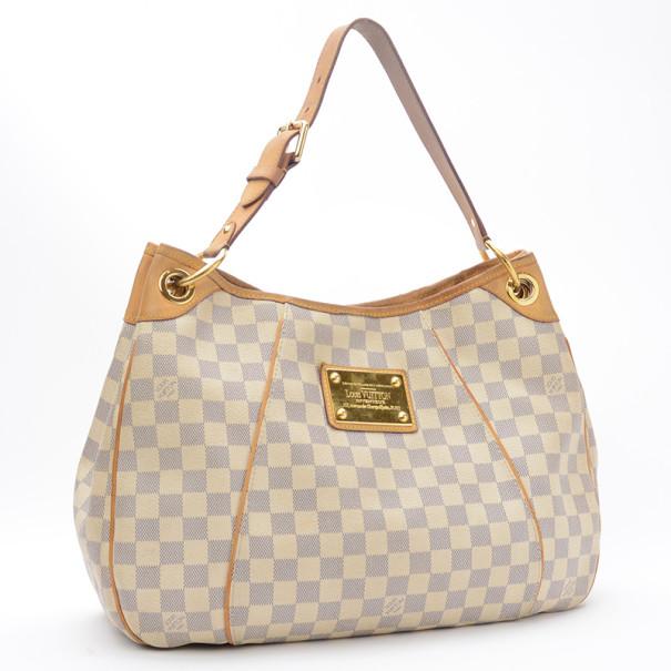Louis Vuitton Damier Azur Galliera PM Shoulder Handbag MM