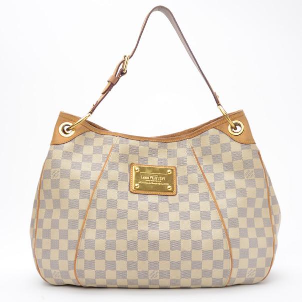 Louis Vuitton Damier Azur Galliera Pm Shoulder Handbag Mm Nextprev Prevnext