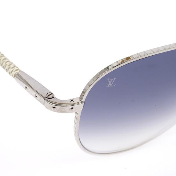 Louis Vuitton Damier Azur Conspiration Pilote Aviators