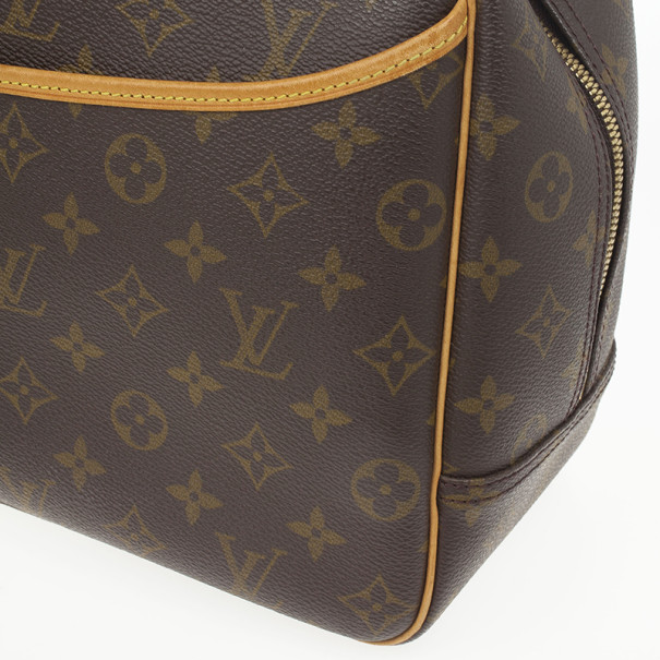 Louis Vuittion Monogram Deauville Boston