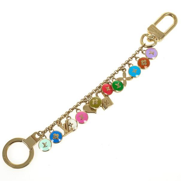 Louis Vuitton Pastilles Chains Key Ring
