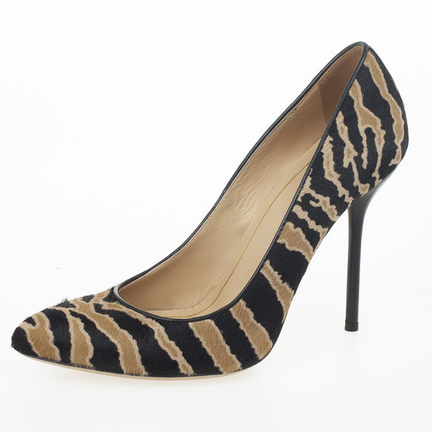Gucci Tiger Pony Hair Pumps Size 37.5