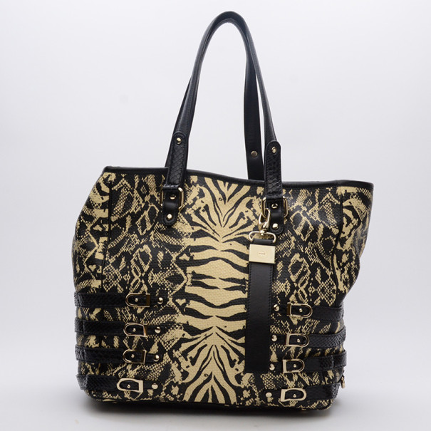 Jimmy Choo Babeth Faux Raffia Shopper