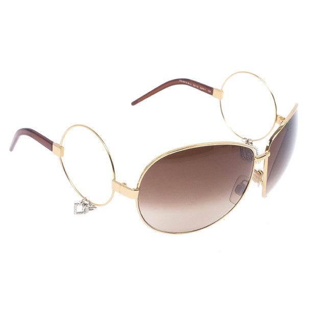 Dolce and Gabbana Charm And Ring Sunglasses