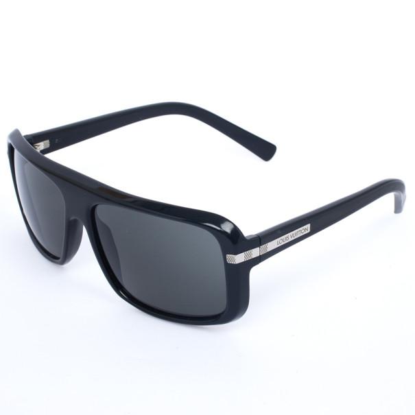 Louis Vuitton Black Possession Carre Mens Sunglasses