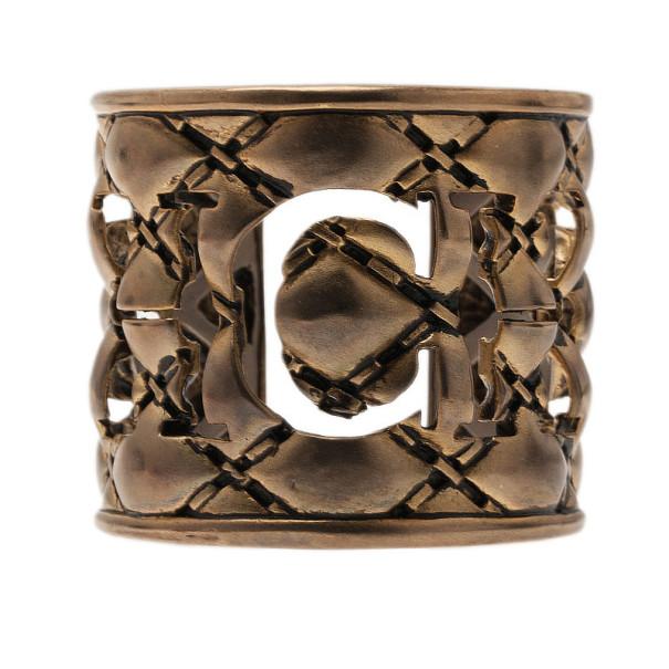 CH Carolina Herrera Gold-Tone Cuff 15CM