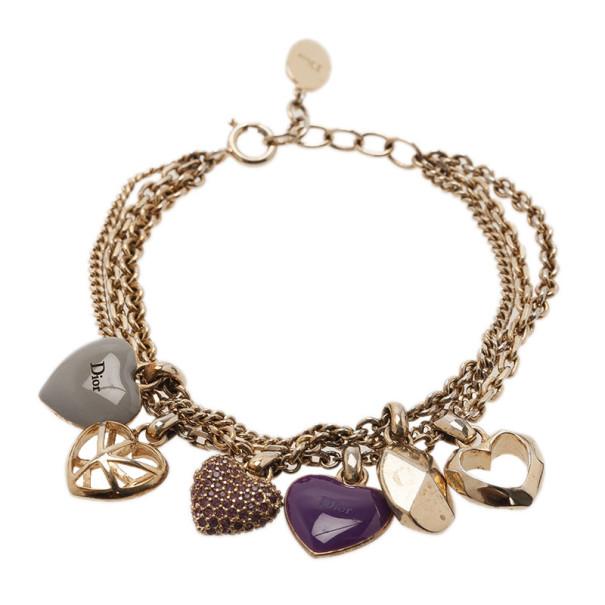 Dior Pop Hearts Bracelet 19CM