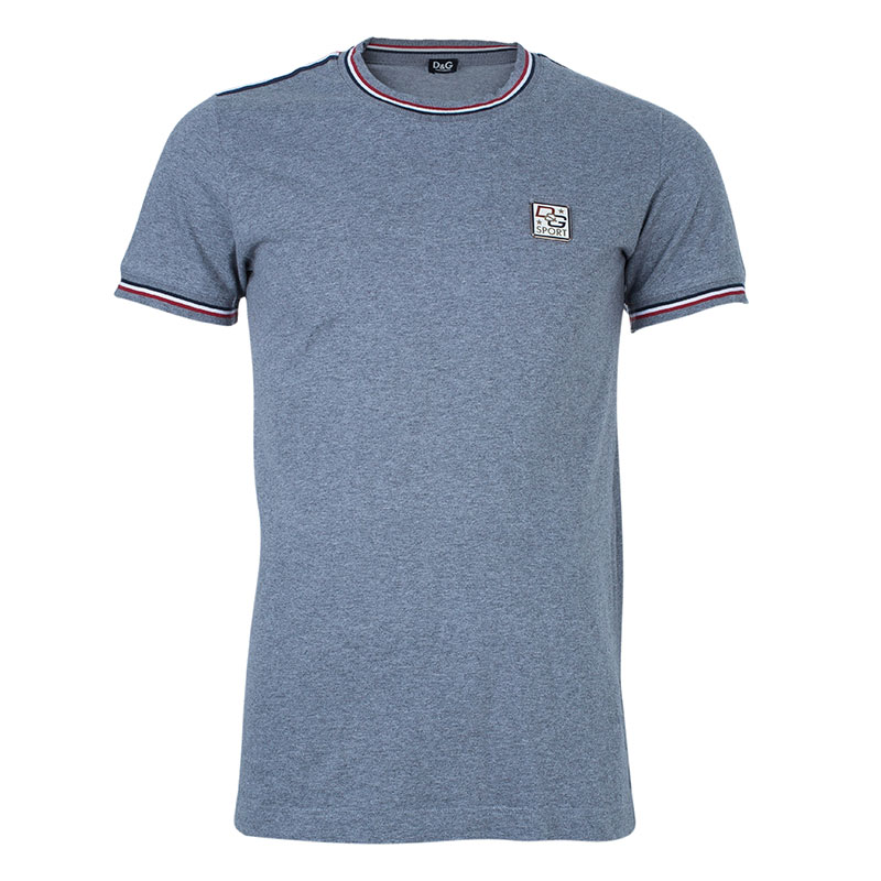 D and G Men's Gray T-Shirt M