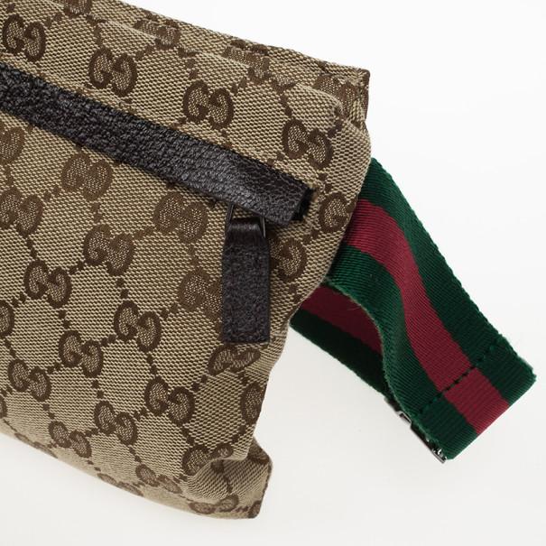 Gucci Monogram Waistbelt Bag