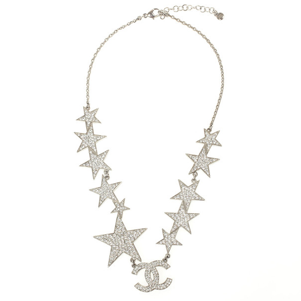 Chanel Star Crystal Necklace