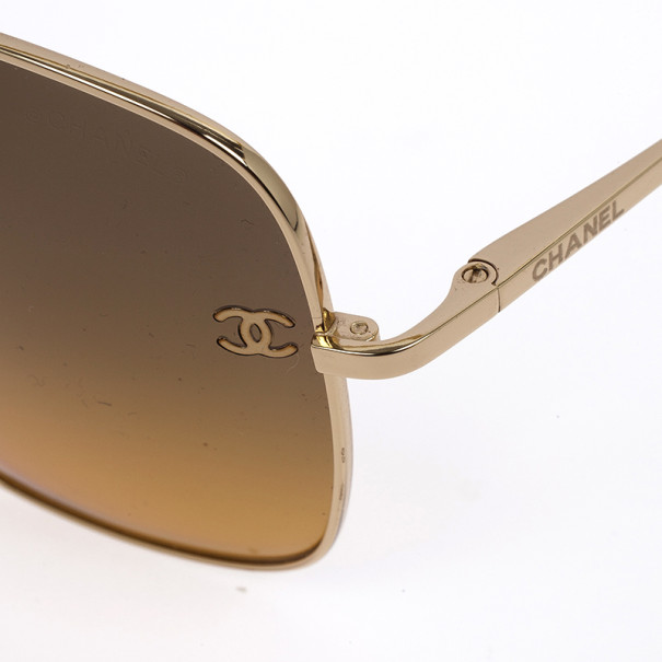 Chanel Square Frame Woman Sunglasses