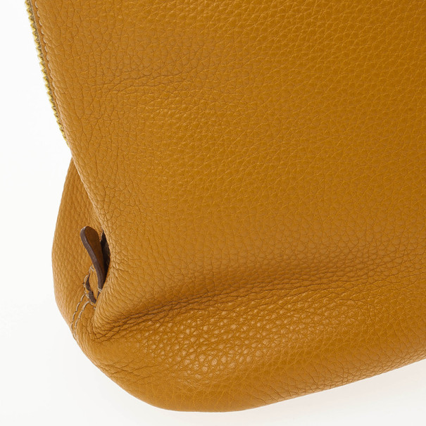 Prada Amber Vitello Daino Side Zip Shopping Tote