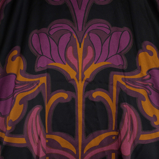 Gucci Art Nouveau Flower Print Oversize Top