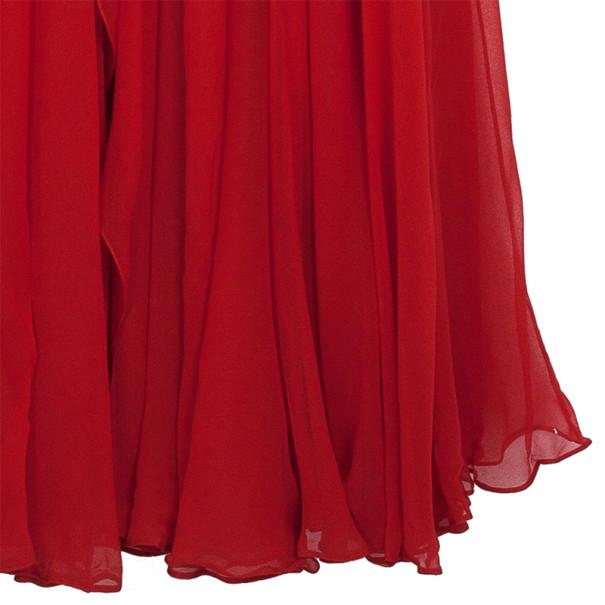 Marchesa Embellished Empire Waist Gown S